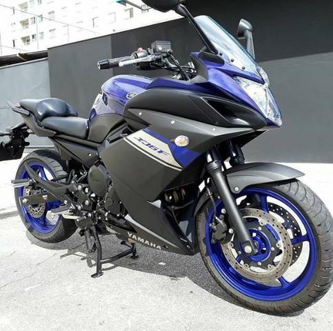 Xj6 f yamaha 600cc 2015 motos jardim santa maria for Yamaha santa maria