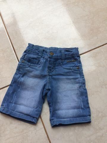 Short veste 1 ano a 2 anos