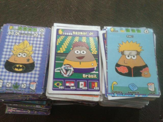 Vendo cartinhas cards do POU