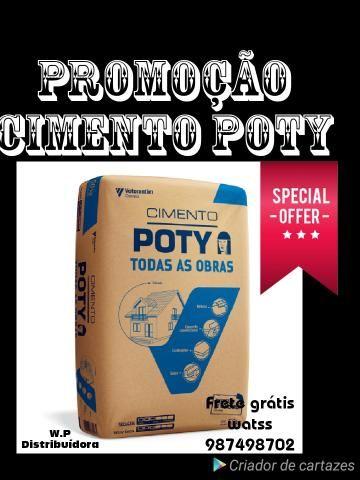 Cimento Poty CPll 32 WP Distribuídora