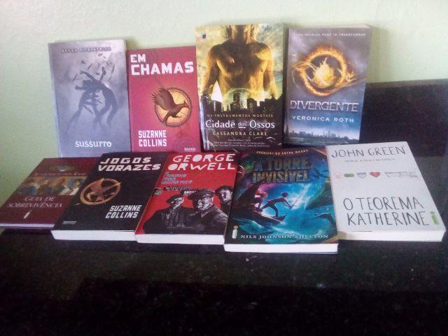 Coleçao diversos - 9 livros