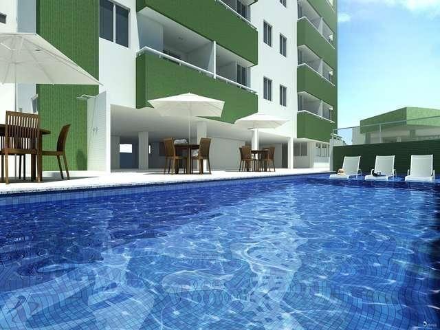 2/4 - Apartamento em Brotas / Luis Anselmo - Residencial Santa Teresa ( Condomínio Clube )