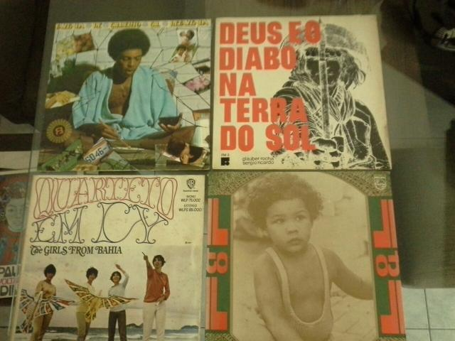 Disco Vinil, Só raridades, Araça azul, Expresso 2222, Legal,Getz/Gilberto 1964,