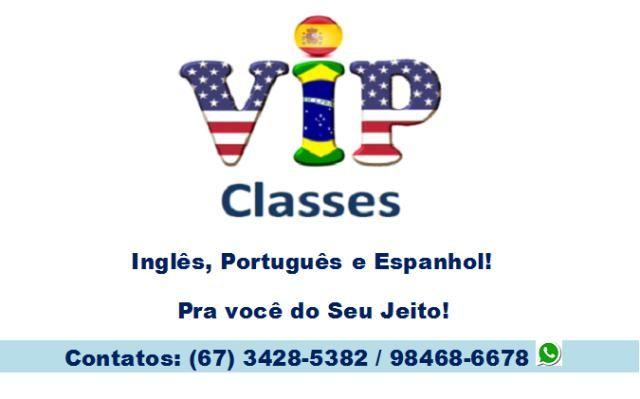 Aulas Particulares de Inglês , Português e Espanhol