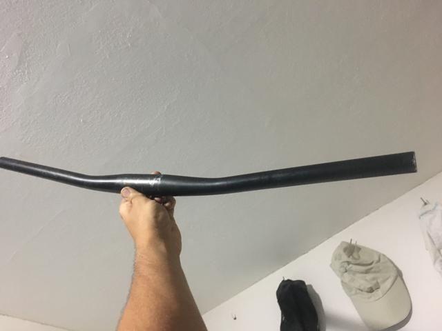 Guidão de MTB - canote da connodale 27,2 - manopla