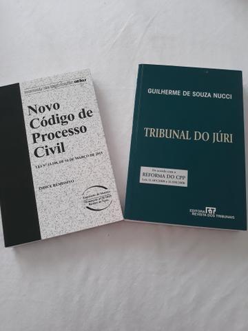 Livros Novo Código de Processo Civil - Tribunal do Júri