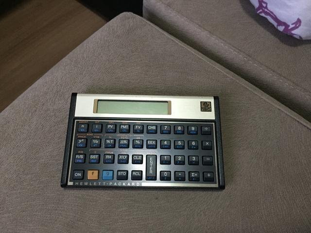 Calculadora Financeira HP 12C Gold (Baixou o Preço)