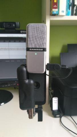 Microfone Condensador USB - Samson Go Mic