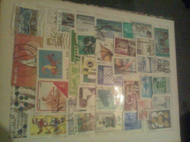 Adquiro coleção de selos antigos