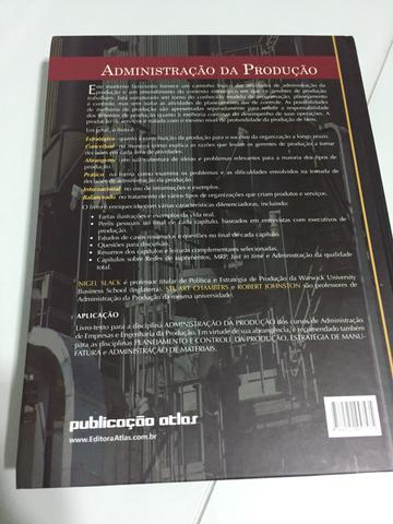 Livro: Administração da Produção - Edição 3 - Slack