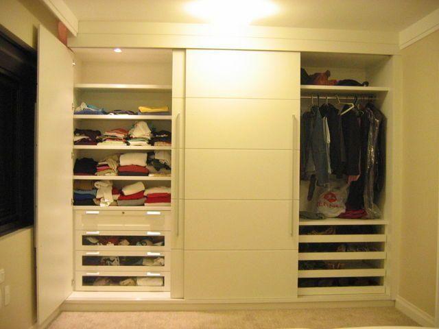 Guarda roupas planejados feito sob medidas. Parcelamos em até 10x sem juros
