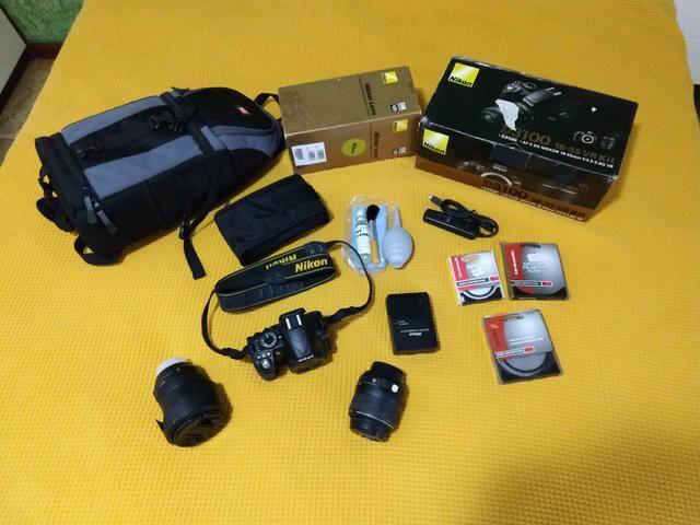 Kit Nikon D3100 18-55mm 18-200mm e muito mais