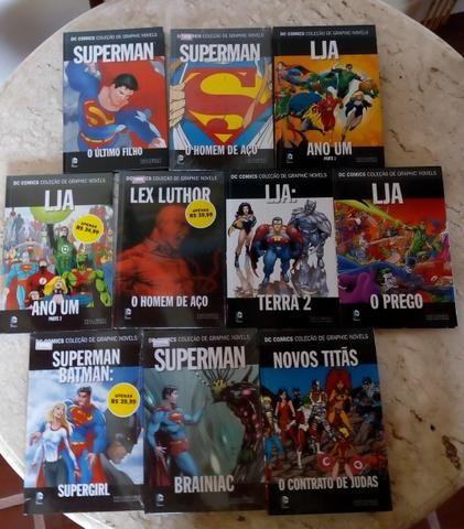Coleção de Graphic Novels DC Comics