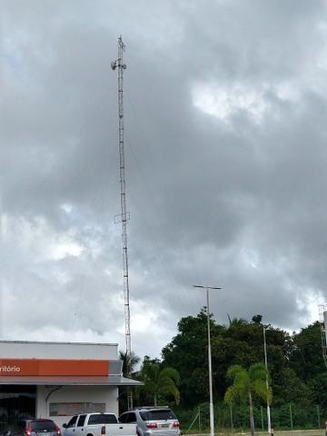 Torre para telefone rural