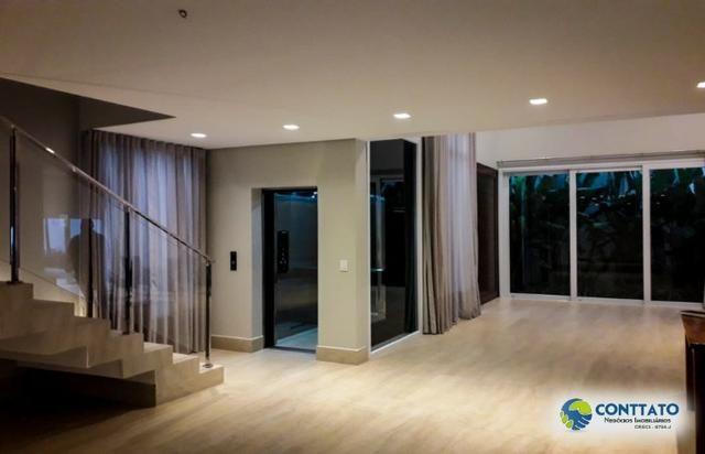 Sobrado 562 m2 área útil e terreno 717 m2 com elevador panorâmico - Foto 10