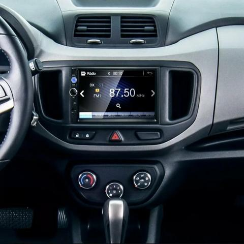 Multimídia FIRST OPTION Universal Espelhamento Bluetooth Câmera de ré