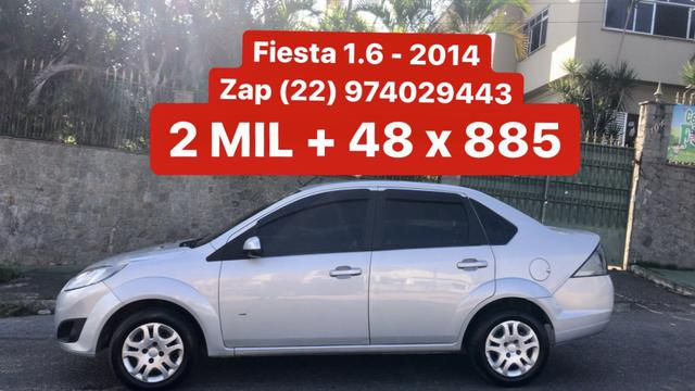 Fiesta Sedan 1.6 - 2014 _ 2 MIL de entrada _ Completo _ 62 km