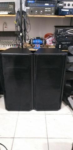 Par de caixas passivas 2 falantes snaker cada c/ drivin oversound