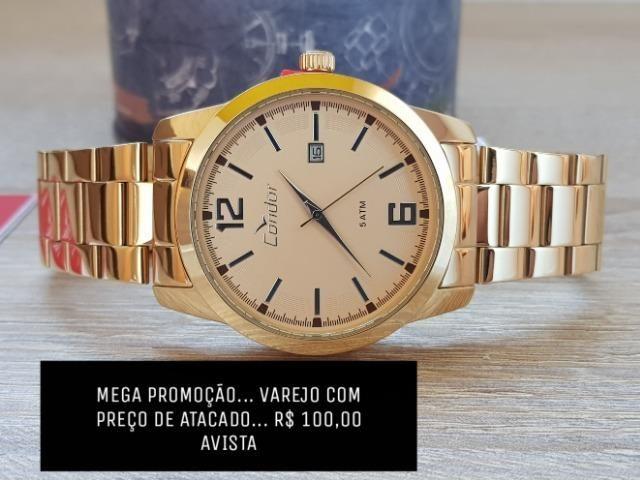 858e4925da8 Relógio Condor Feminino Dourado e Prata Leiam o Anúncio ...