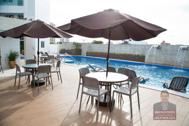 Apartamento com 3 dormitórios à venda, 110 m² por R$ 719.900,00 - Aldeota - Fortaleza/CE - Foto 14