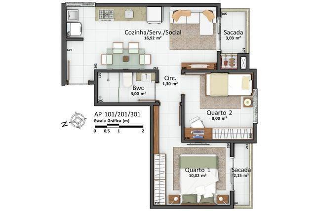 Apartamento Nova Palhoça - Foto 8