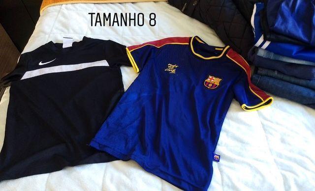Camisetas infantil menino TAM 6,8 e 10. Preço acessível