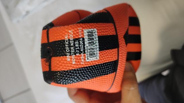 Mini-bola de basquete - Adidas (nova/original) - Foto 5