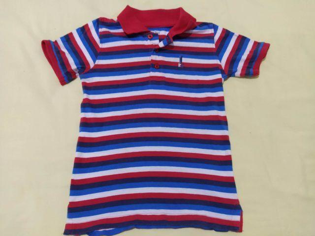 Camisas e bermuda tamanho 3 - Foto 2
