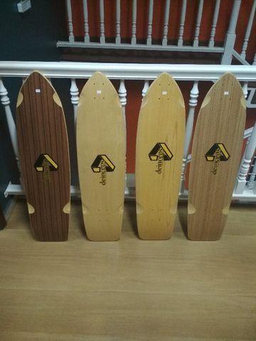 Shape de Skate Longboard (Simulador de Surf)
