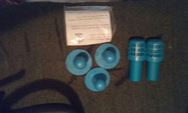 Bomba de inflar + peças de piscina - Foto 2