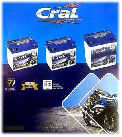 Bateria de Moto CLM 5 D - Cral - Foto 3