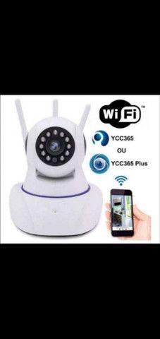 Câmera segurança robô Wi-Fi