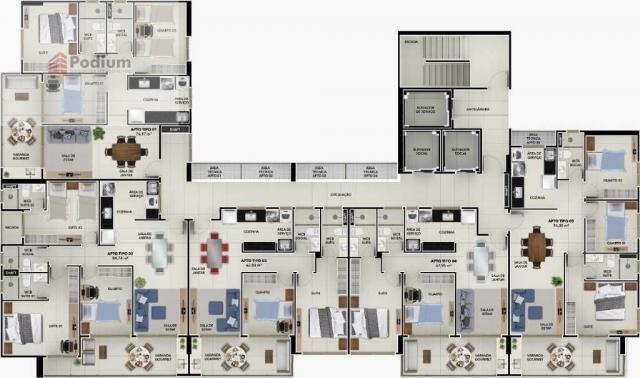 Apartamento à venda com 3 dormitórios em Brisamar, João pessoa cod:36996 - Foto 10