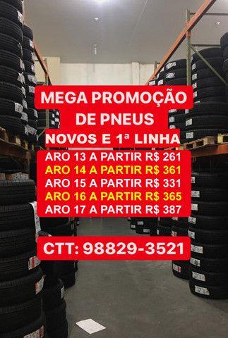 Promoção de Pneus Dunlop, Xbri, Mazzini, Linglong, Triangle aro 13 14 15 16 17 18 20 - Foto 2