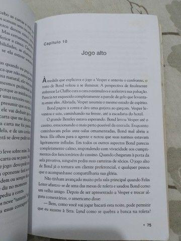 Livro 007 Cassino Royale - Foto 4