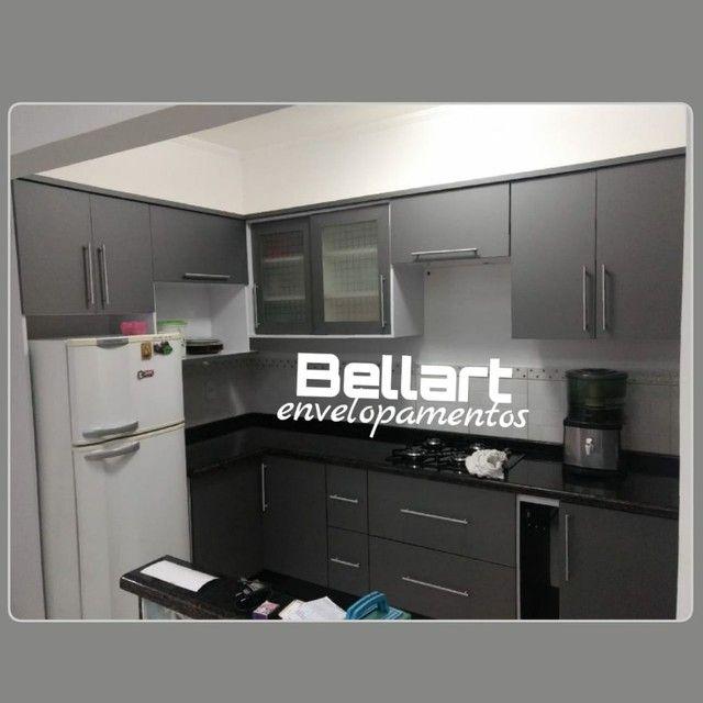 Envelopamento de armario de cozinha - Foto 3