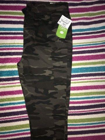 Calça jeans Jogger camuflada NOVA 38 - Foto 3
