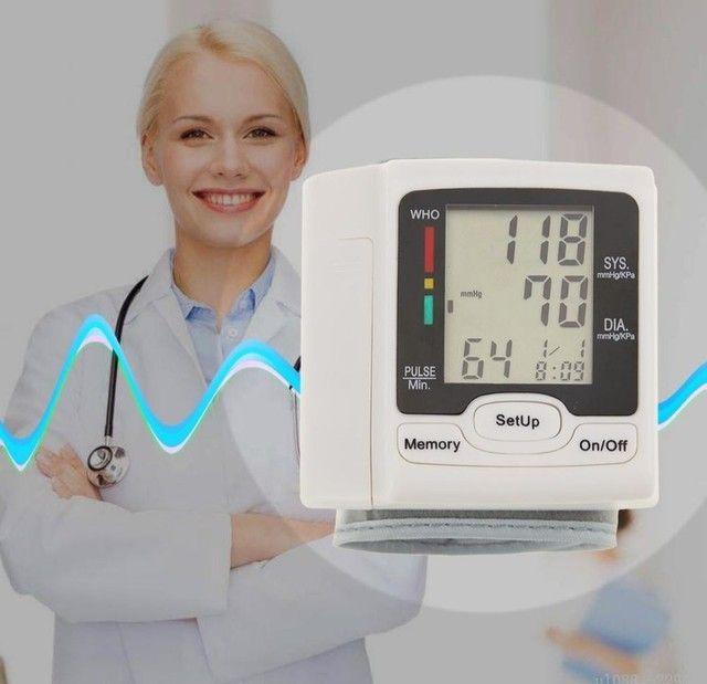 Medidor De Pressão Arterial Digital Com Display Lcd / Pulso / Medidor De - Foto 5