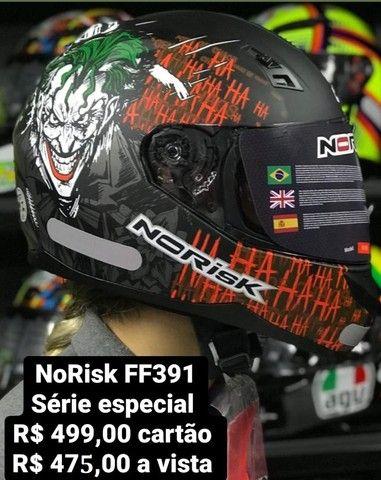 Capacetes NoRisk a partir de R$ 425,00 JL Parts - Foto 8