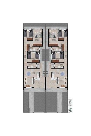 Casa 3 Dormitórios - 85 metros!!! - Foto 2