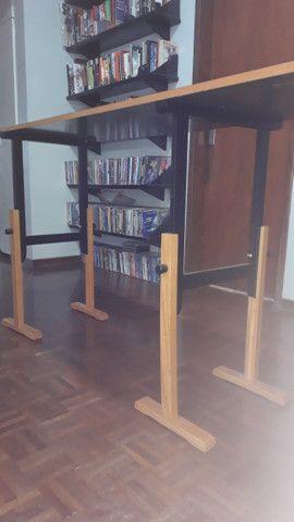 Mesa com 3 cavaletes. (particular) - Foto 3