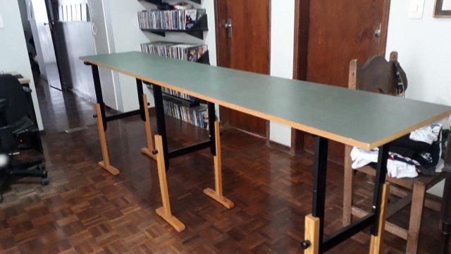 Mesa com 3 cavaletes. (particular) - Foto 4