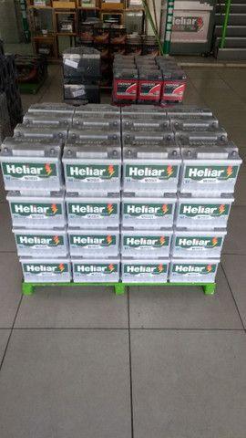 Bateria Heliar 60ah 18meses de garantia  - Foto 2