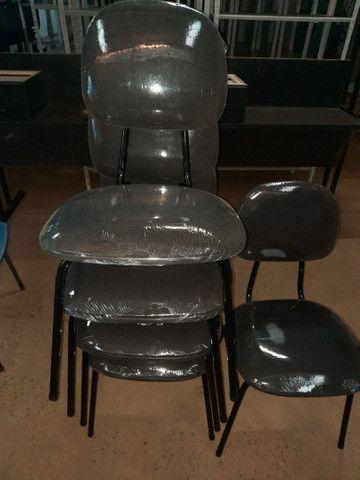Cadeiras estofadas  3/4  - Foto 5