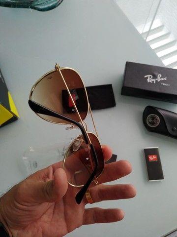 Vendo óculos novo modelo aviador na caixa - Foto 2