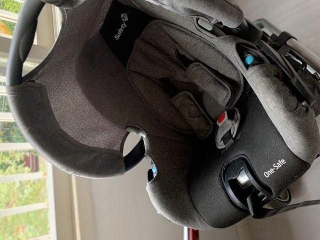 Carrinho de bebê + bebe conforto - Mobi , safety 1st - Foto 6