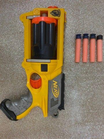 Brinquedo Arma Nerf   Lançador Nerf Maverick Rev-6
