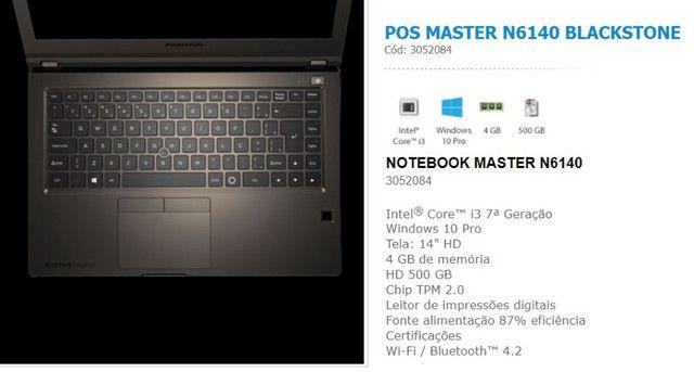 Notebook Positivo Master N6140