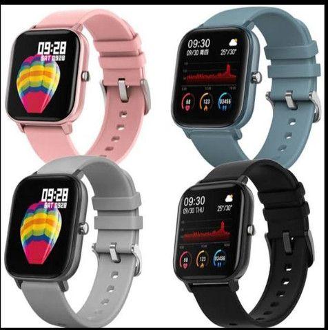 relógio smartwatch inteligente fitness android - Foto 3