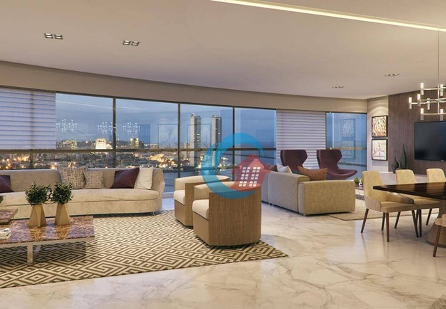 Apartamento com 4 quartos à venda, 268 m² por R$ 2.779.485 - Pina - Recife/PE - Foto 4